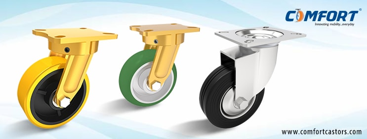 Comfort Castors  Why It Is Advisable To Use Polyurethane Caster Wheels In Heavy Duty Industrial Caster And Wheel Applications?