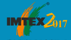 Successful Participation in IMTEX 2017,<br> Bangalore