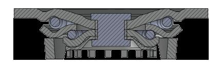 Comfort Castors 4c7c97412b0744b4bf6792cc84ca81bd Fabricated Heavy Duty PU Castor (HEAVY DUTY FABRICATED CASTOR)
