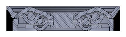 Comfort Castors 56b9bb5ef7024912a5ecc9f8a5c0644e Industrial Black Rubber Castor (INDUSTRIAL BLACK RUBBER CASTOR)