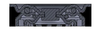 Comfort Castors 5f4de8edf83f4667a316bf7064b3e517 Light Duty PPCP Castor (LIGHT DUTY CASTOR)