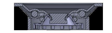 Comfort Castors 8ede1bc6f27c46208744e6841300c4e8 Medium Duty PU Castor (MEDIUM DUTY CASTOR)