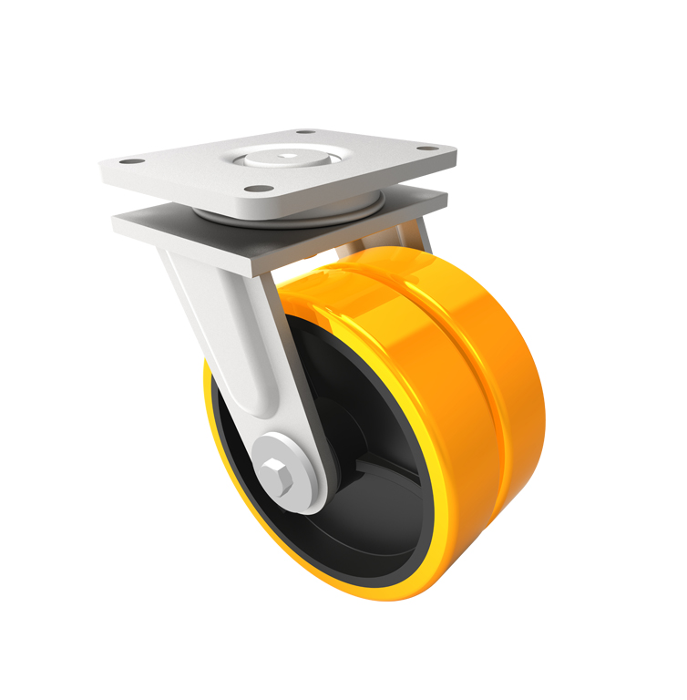 Comfort Castors Dual-Whee-Castor-Swivel Dual Wheel Castor (SPECIALISED CASTOR)