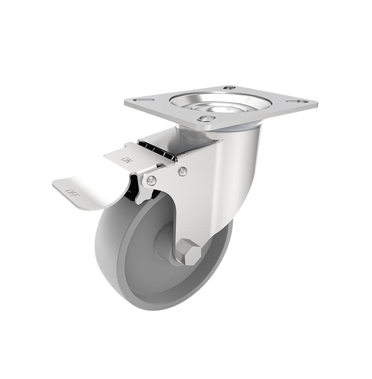 Comfort Castors Medium-Duty-CI-Castor-Brake Medium Duty CI Castor (MEDIUM DUTY CASTOR)