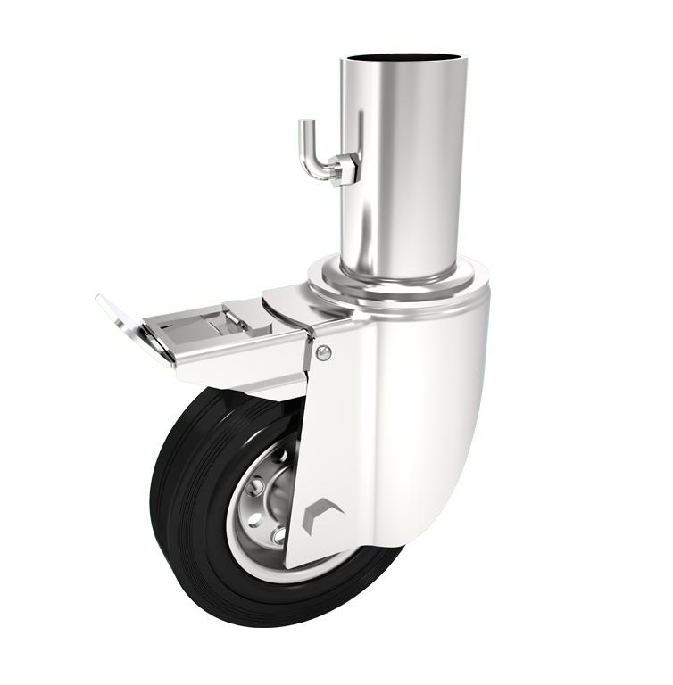 Comfort Castors Scaffolding-Castor-Rubber-Brake Scaffolding Castor Rubber (SPECIALISED CASTOR)