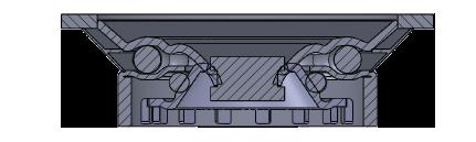 Comfort Castors a7de39aa4db94aa3ac1b79dea4b2e1bc Stainless Steel 304 PU Castor (SPECIALISED CASTOR)