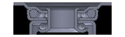 Comfort Castors cdaeab503dac47008dc0a03ece8ffcd7 Heavy Duty PU ILET Castor (HEAVY DUTY CASTOR)