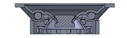 Comfort Castors eee8b1d31e744b739f67b0176d9f7b4b Medium Duty Black Rubber Castor (MEDIUM DUTY CASTOR)