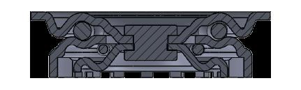 Comfort Castors fa0a2f54742f435a9443842409580321 Light Duty PU Castor (LIGHT DUTY CASTOR)